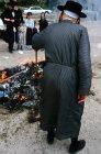 Israel Jerusalem Ultra-Orthodox Jews burn leavened products on eve of Pesach  Passover Festival
