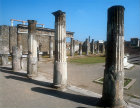 Temple of Apollo, south colonnade, Pompeii, Italy