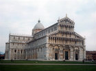 Duomo (cathedral) begun 1064, west end, Pisa, Italy