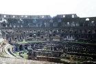Colosseum, interior, built 70-80 AD, Rome, Italy