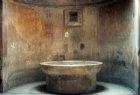 Roman bath tub, Pompeii, Italy