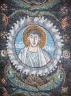 Italy Ravenna San Vitale St Simon 6th century Byzantine mosaic