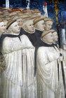 Choir of Augustinian friars, Pietro de Rimini, circa 1325, Capellone di San Nicola, Tolentino, Marche, Italy