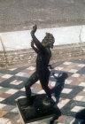 Faun, sculpture, Pompeii, Italy Pompeii, Italy