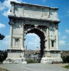 Arch of Titus, circa 82 AD, Roman Forum, Rome, Italy