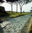 Italy Rome the Via Appia built 312 BC