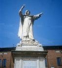 Ignatius of Loyola 1491-1556, founder of the Society of Jesus (Jesuits), statue, Ferrara, Italy