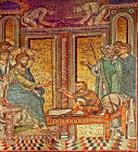 Raising of Lazarus, Monreale Cathedral, Sicily