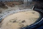 Roman amphitheatre, built circa 70 BC, oldest stone amphitheatre, Pompeii, Italy