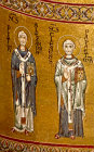 Saints Peter Alexandrine and Clemens, Monreale Cathedral, Sicily