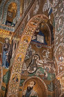 Nativity of Christ, Palatine Chapel, palace of the Norman kings of Sicily, built by Roger II, Palermo, Sicily, Italy