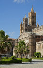 Palermo Cathedral, founded 1185 by Anglo-Norman Archbishp, Gualtiero Offamiglio (Walter of the Mill), Palermo, Sicily, Italy