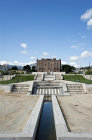 La Zisa Palace, begun by Norman king William I of Sicily in 1160, who employed Arab craftsmen, finished by King William II, Palermo, Sicily, Italy