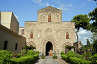 Church of the Holy Trinity (la Magione), begun 1191 in Arab-Norman style, Palermo, Sicily, Italy