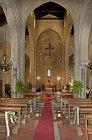 Church of the Holy Trinity (la Magione), begun 1191 in Arab-Norman style, interior, Palermo, Sicily, Italy