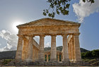 Doric temple, built late fifth century BC, unfinished, Segesta, Sicily, Italy