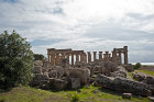 Temple of Hera, Temple E, Doric temple built sixth century BC, eastern group of temples, Selinunte (ancient Selinus) Sicily, Italy