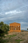 Concordia Temple, built circa fifth century BC, Valley of the Temples, Agrigento, (ancient Akragas, founded circa 580 BC), Sicily, Italy