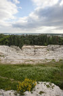 Greek theatre, fifth century BC, with sixty seven rows of seats, Siracusa, Sicily, Italy