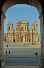 Noto Cathedral, original destroyed by earthquake in 1693, present building completed 1776, Noto, Sicily, Italy