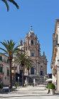 Ragusa Cathedral, dedicated to San Giorgio, begun 1738 in baroque style by architect Rosario Gagliardi, Palermo, Sicily, Italy