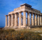 Temple of Hera, fifth century BC, east-north-east aspect, Selinunte, Sicily, Italy