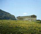 Italy, Sicily, Segesta, the Temple 5th century BC
