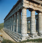 Italy, Sicily, Segesta, the Temple, northern colonnade 5th century BC