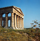 Italy, Sicily, Segesta, Greek Temple 5th century BC