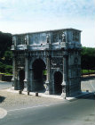 Arch of Constantine, 315 AD, Rome, Italy