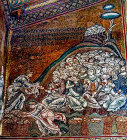 Miracle of the loaves and fishes, Monreale Cathedral, Sicily