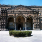 Palermo Cathedral, twelfth century, south doorway, fifteenth century, Palermo, Sicily, Italy