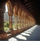Cloisters, circa 1175, Cathedral of Monreale, Sicily, Italy