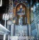 Palatine Chapel, twelfth century Byzantine mosaics, Palermo, Sicily, Italy