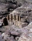 Ad-Deir, the Monastery, aerial photograph, Petra, Jordan