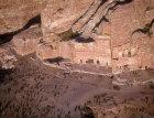 Palace tomb, left  and Corinthian tomb, right, aerial photograph Petra, Jordan