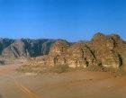 Wadi Rum, aerial photograph, Jordan