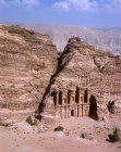 Monastery (El Deir), aerial photograph, Petra, Jordan