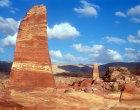 Obelisks on the High Place of Sacrifice, Petra, Jordan