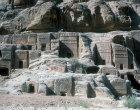 Street of Facades in outer siq, Petra, Jordan