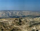 Umm Qais, Biblical Gadara (one of the cities of the Decapolis), aerial photograph, Jordan