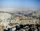 Amman, capital city, aerial photograph, Jordan