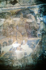 Women bathing, detail of eighth century fresco, Qasr al-Amra, Jordan