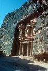 Treasury, rock architecture, Petra, Jordan