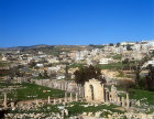North Tetrakonion, and north end of Cardo, Jerash, Jordan