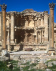 Nymphaeum, Roman public fountain, constructed in 191 AD, Jerash, Jordan