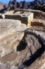 High Place of Sacrifice, round altar, Petra, Jordan