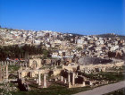 Church of Bishop Isaiah, north tetrapylon, north theatre, Jerash, Jordan