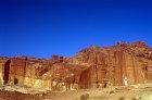 Mughar an-Nassara tombs on east side, Petra, Jordan