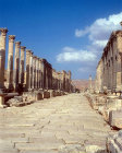 Street dating from Roman period, Jerash, Jordan
